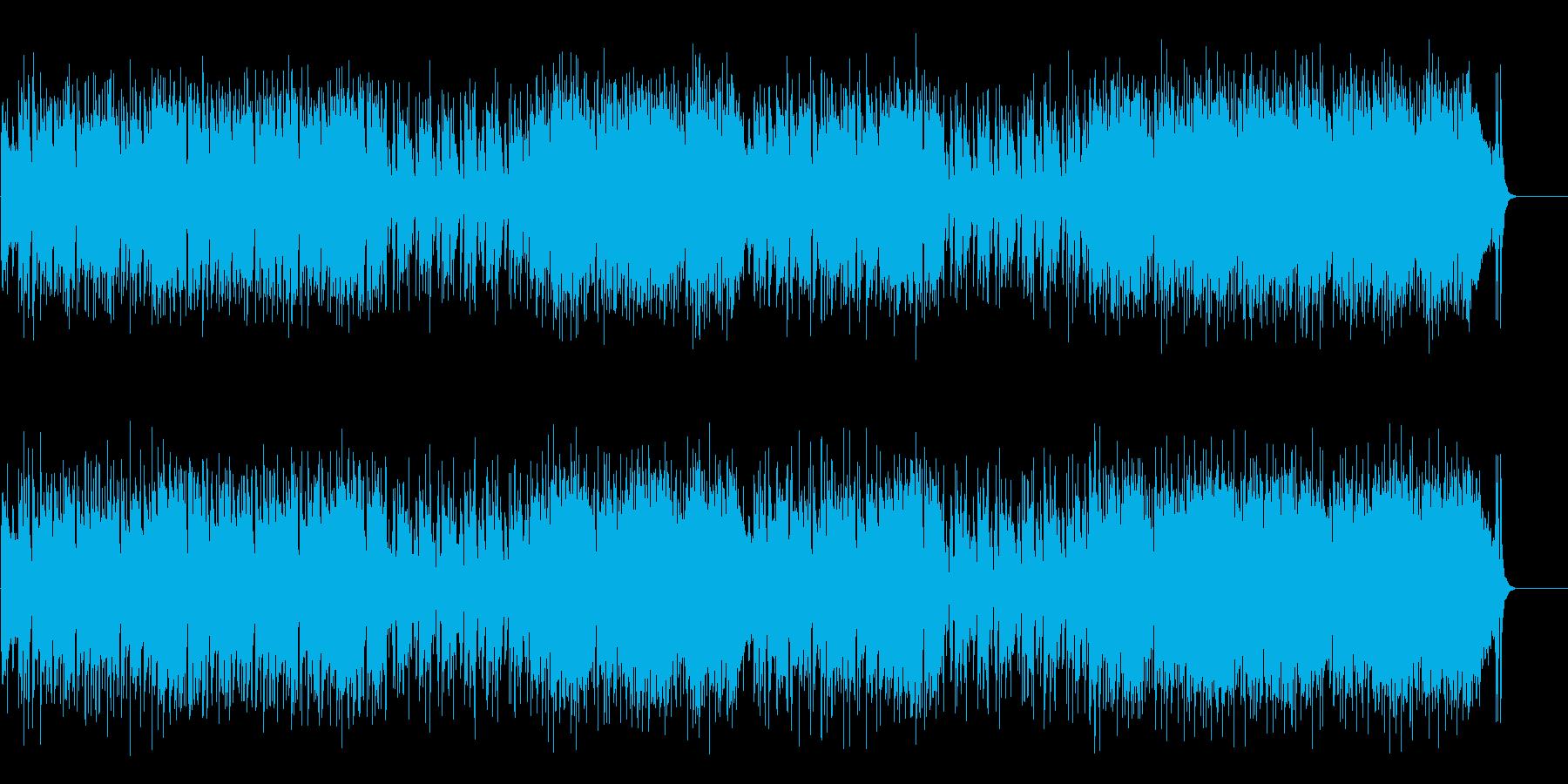 爽快にして流麗なアコースティックファンクの再生済みの波形