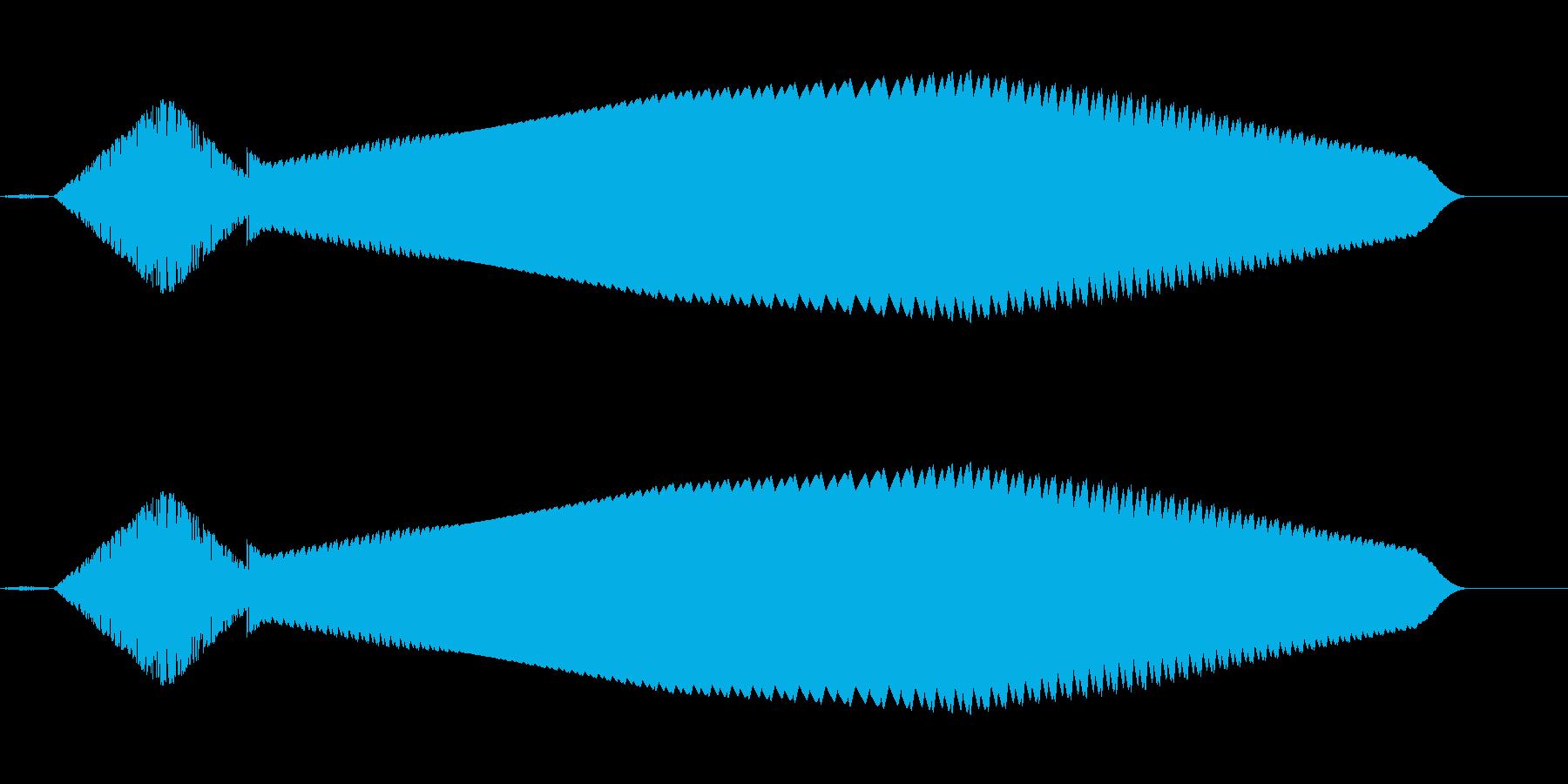 ピロピロ(不思議/ファミコン/SF宇宙の再生済みの波形
