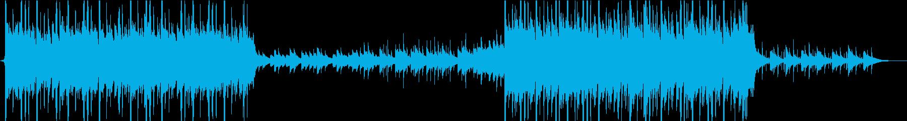 ピアノ美しく、情緒的なヒップホップ②の再生済みの波形