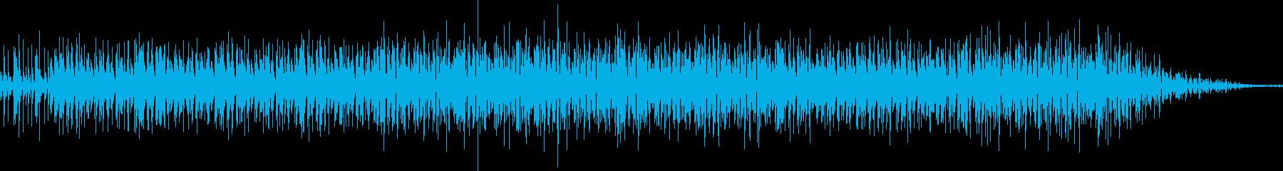 変わったタイプのbeatsの再生済みの波形
