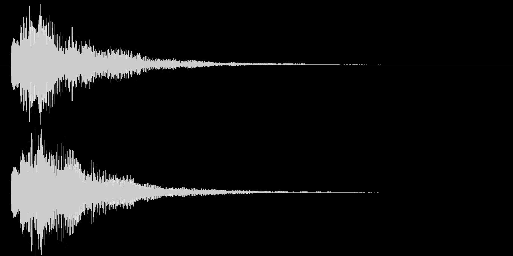 ポロロン②(スタート・テロップ・決定)の未再生の波形