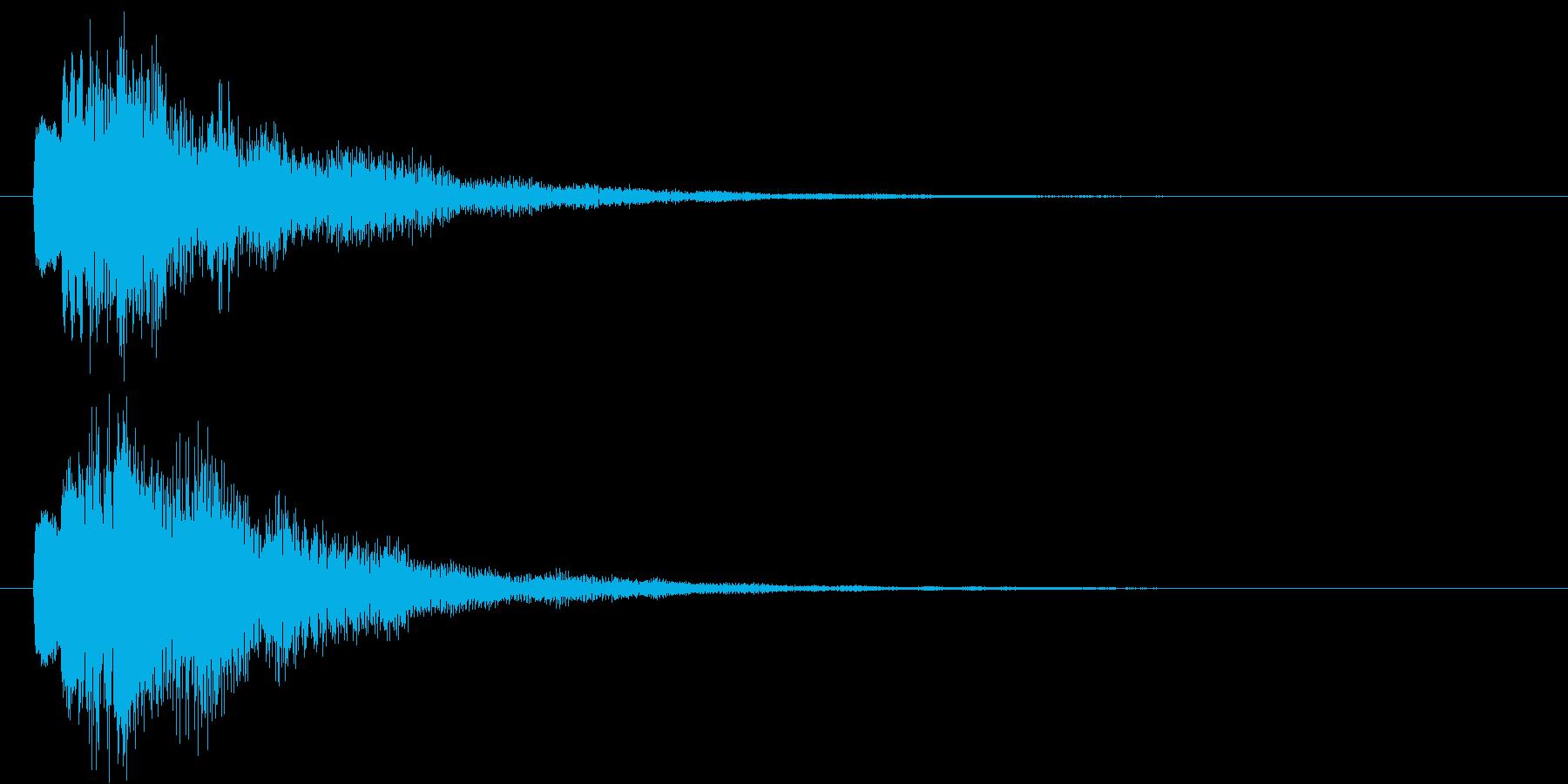 ポロロン②(スタート・テロップ・決定)の再生済みの波形