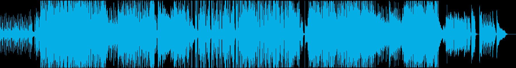 女性ヴォーカルの切ないRnB調ラヴソングの再生済みの波形