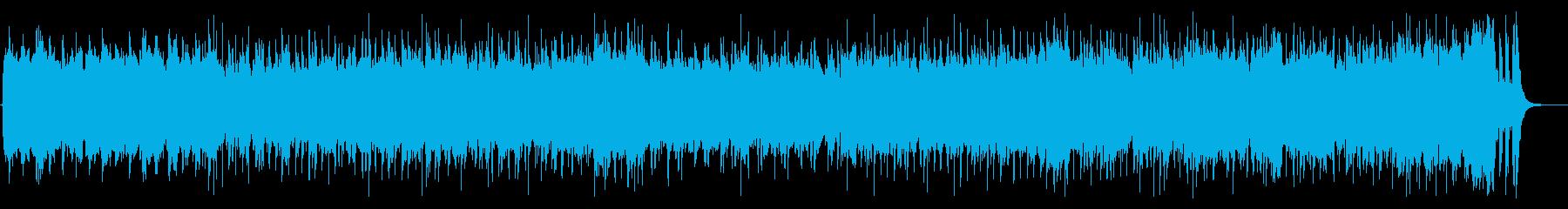 軽快なクラシックポップスの再生済みの波形
