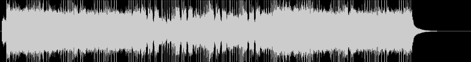 怒りのメタル風BGM1の未再生の波形