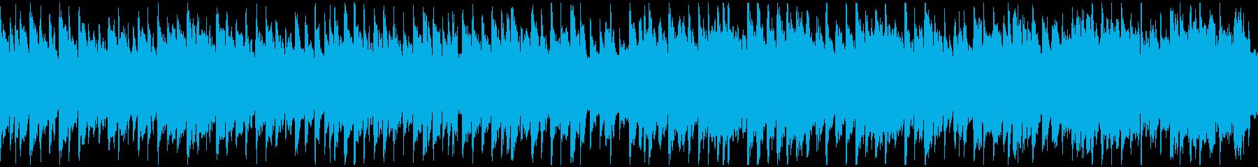 黄昏、オルガンとリコーダー ※ループ版の再生済みの波形