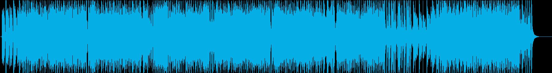 ゲーム わちゃわちゃしたコミカルBGMの再生済みの波形