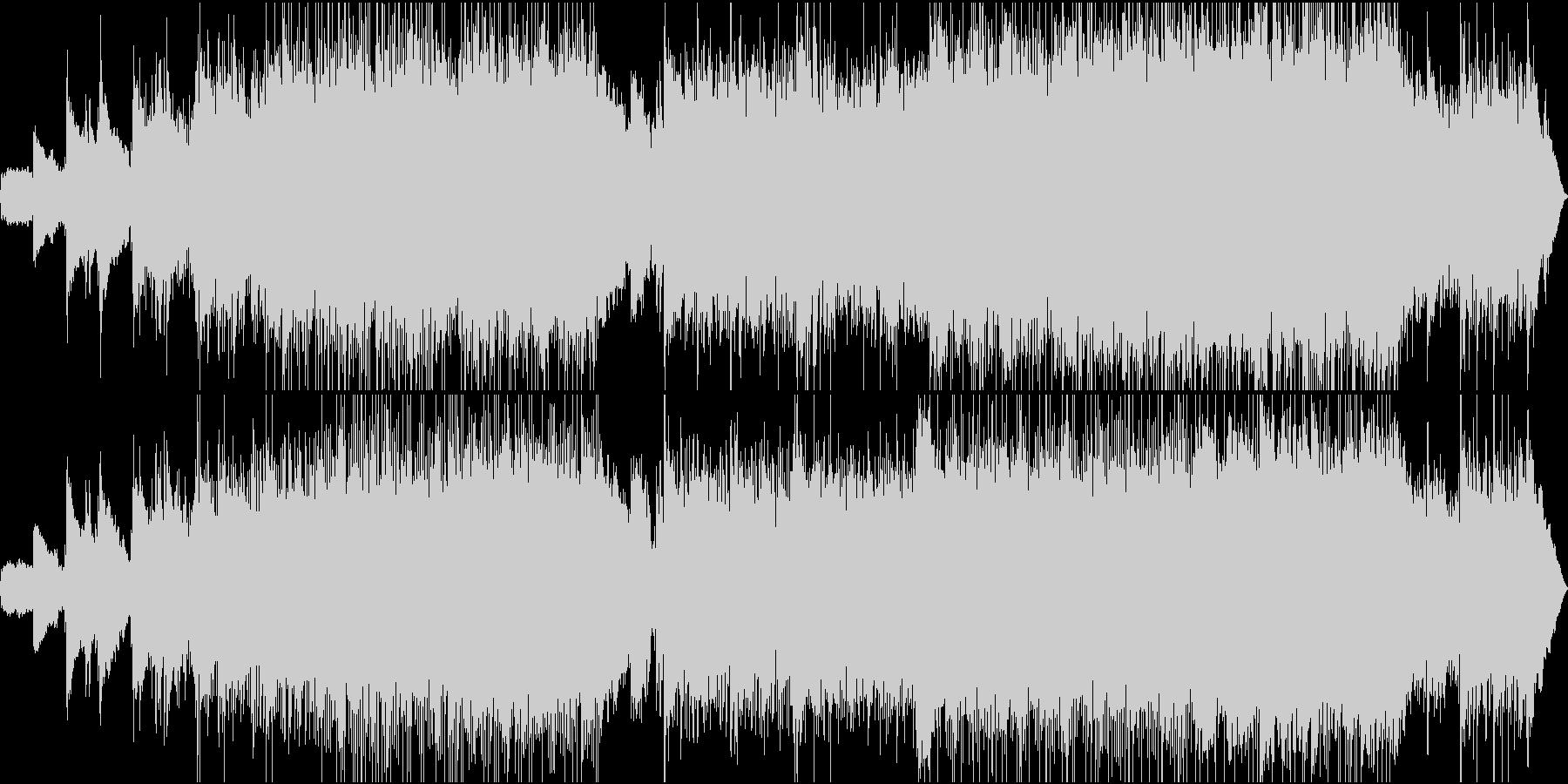 ワールド 民族 現代的 交響曲 室...の未再生の波形