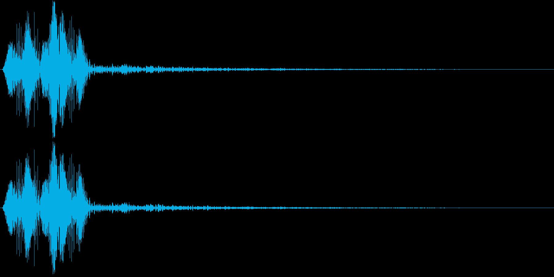 決定・空気感・暗め・ネガティブ2の再生済みの波形