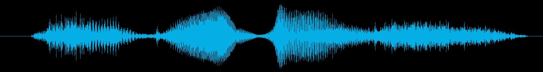 次ですの再生済みの波形