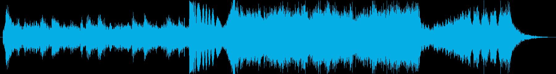 壮大なハリウッド風エピックトレーラーdの再生済みの波形
