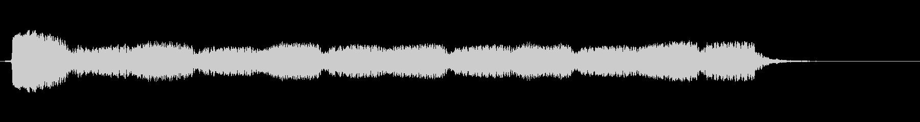 1985ドイツ救急車:音響ホーンサイレンの未再生の波形