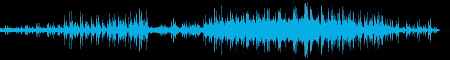 爽やで切ないピアノ旋律のヒーリング音楽の再生済みの波形