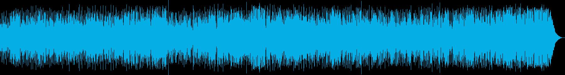疾走感溢れるジャズ・ファンクの再生済みの波形