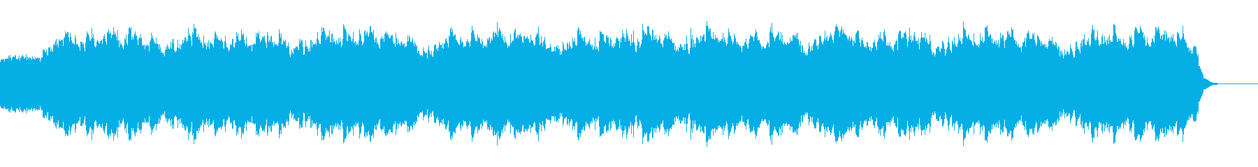【ホラー・SF系】ノイズ、サスペンスの再生済みの波形