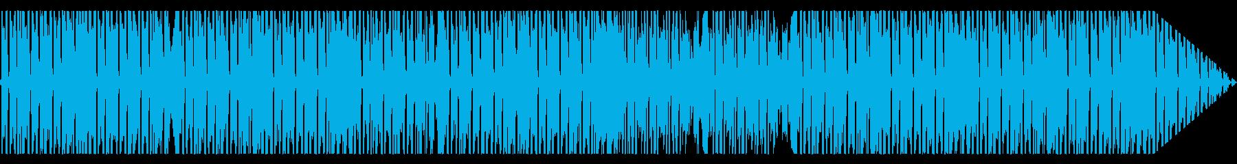 おしゃれで軽快なピアノ系|lofiビートの再生済みの波形