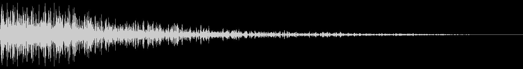 ディープスペースキャノン2の未再生の波形
