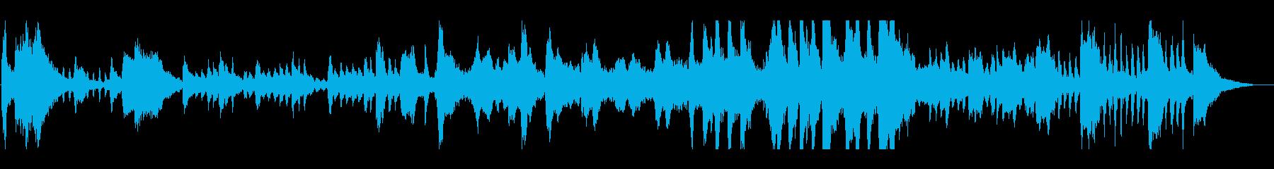 バロッコスタイルの子供たちの音楽。...の再生済みの波形