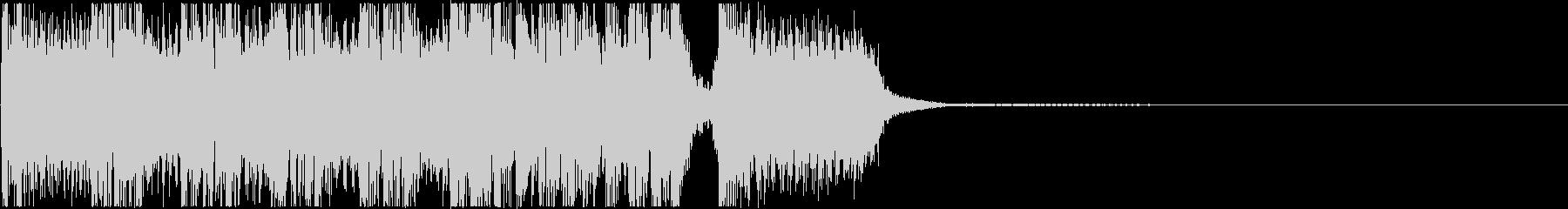 生演奏メタルなアイキャッチ17の未再生の波形