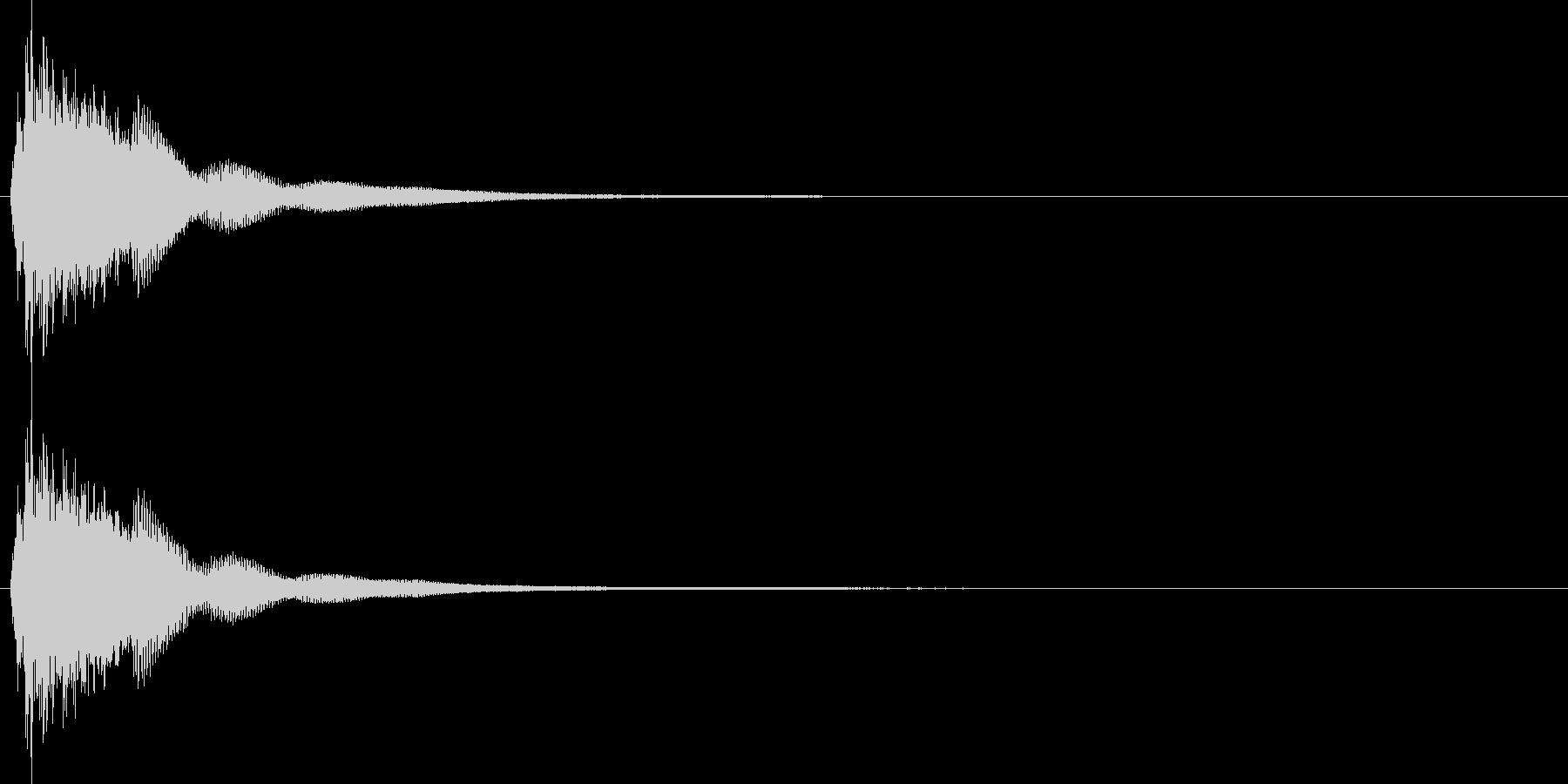 連鎖/パズルゲーム/コンボ/2段階目の未再生の波形