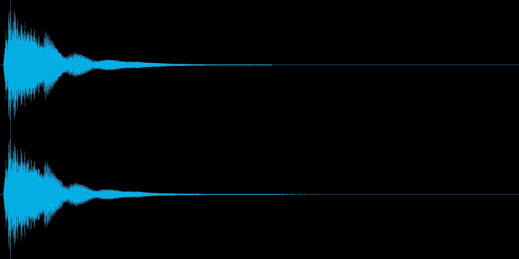 連鎖/パズルゲーム/コンボ/2段階目の再生済みの波形