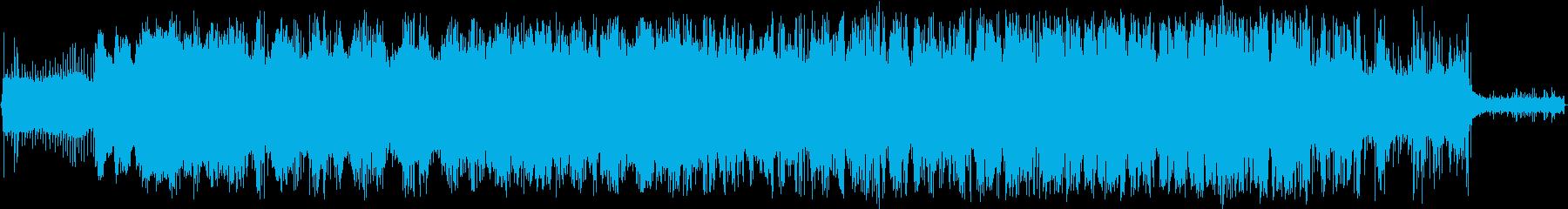 ガス芝生トリマー:スタート、カット...の再生済みの波形