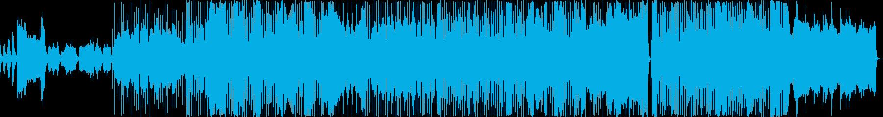 クラシカルな寂しい雰囲気のバラードの再生済みの波形