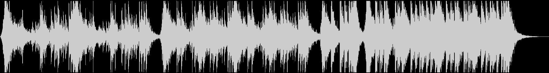 迫力あるシネマチックパーカッション04の未再生の波形