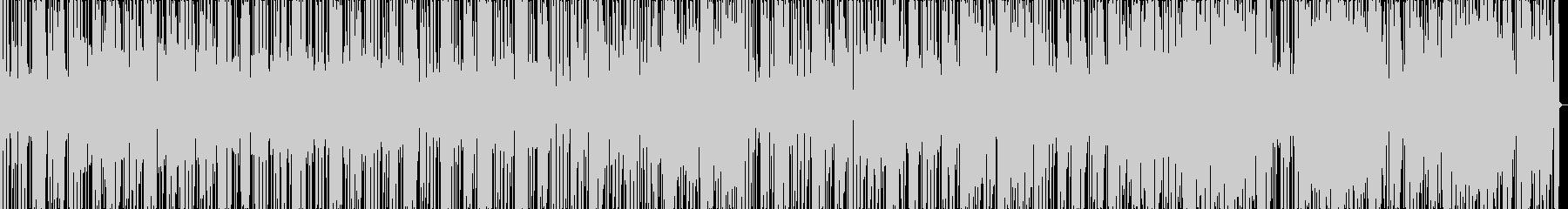 ファンキーなリズムな曲です。の未再生の波形