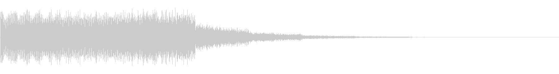 パワースイーパースイープアクセントの未再生の波形