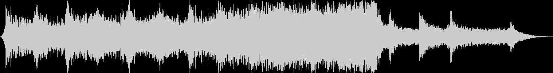 現代的 交響曲 実験的な アクティ...の未再生の波形