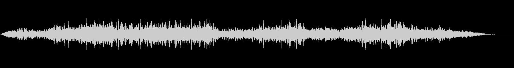戦場のヘリ、サイレン、マシンガンの音の未再生の波形