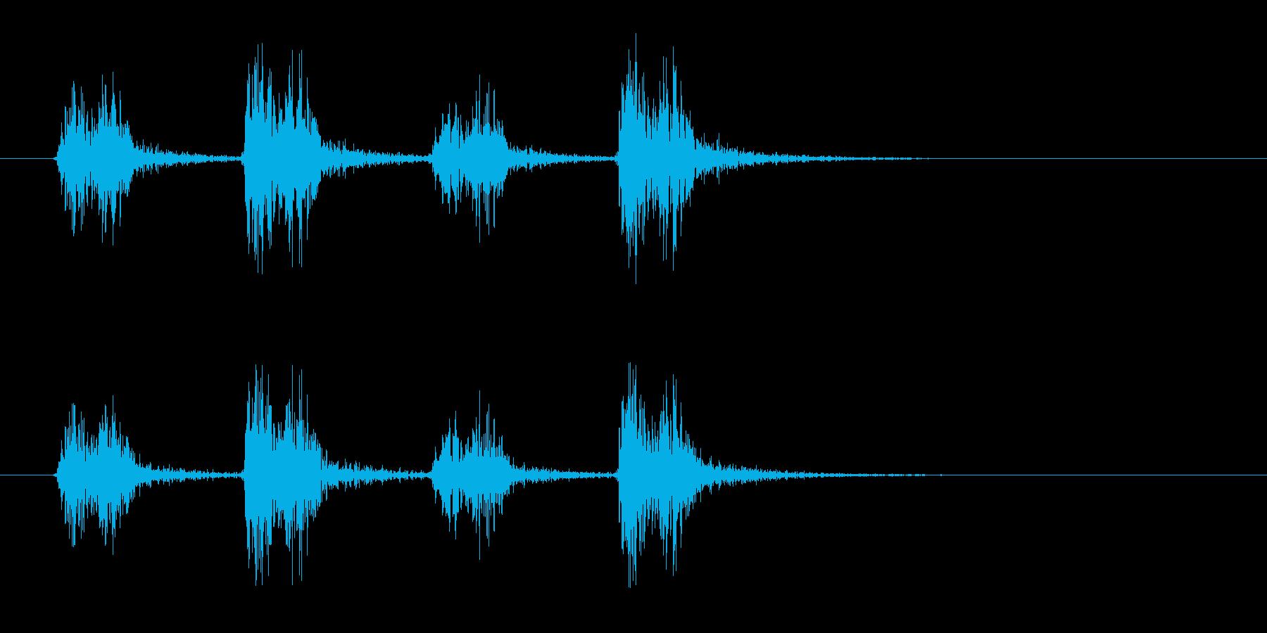 羽ばたき(大きな鳥・ドラゴン)の再生済みの波形
