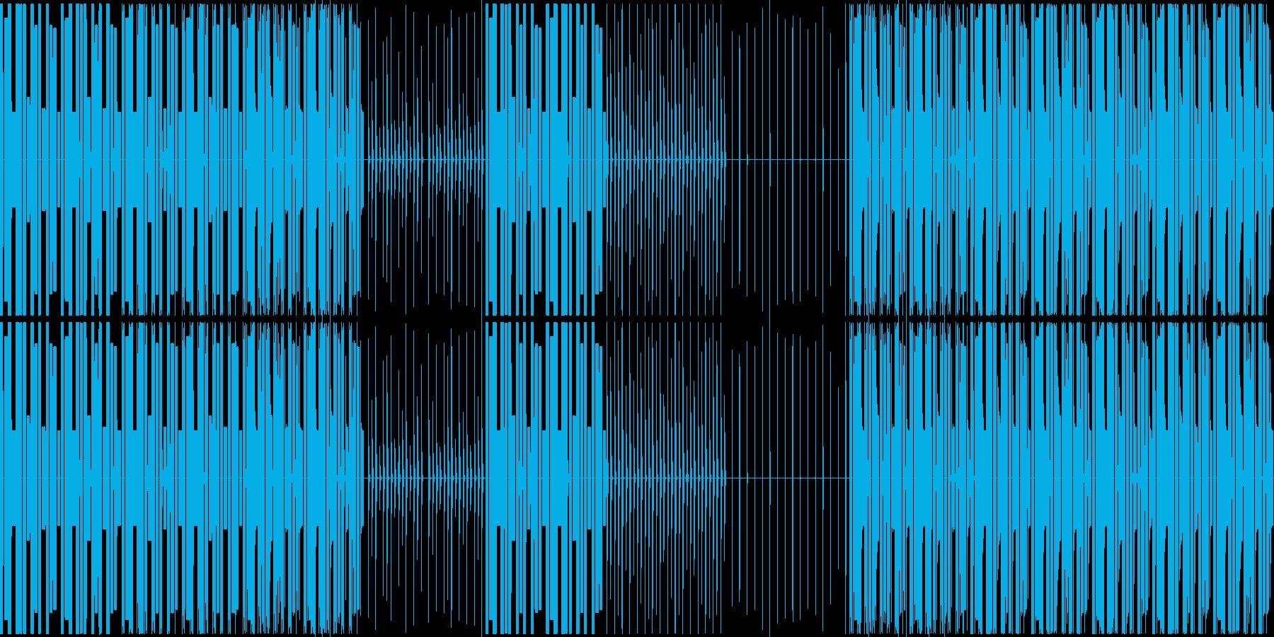 編集で使えるようにソロパート作りました。の再生済みの波形