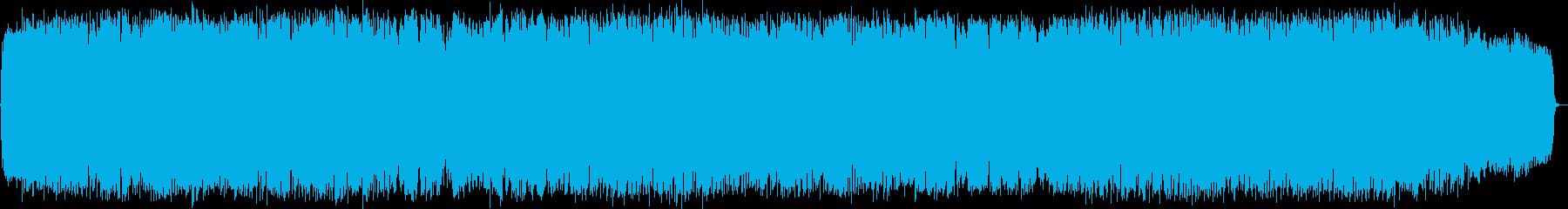 力強い風 竹笛のニューエイジ音楽の再生済みの波形