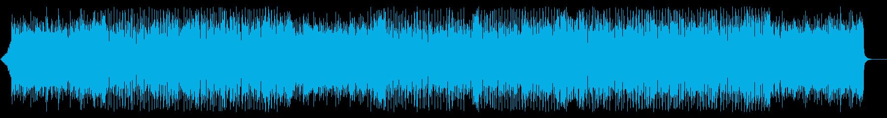 企業VP・ファンキーで弾けるような躍動感の再生済みの波形