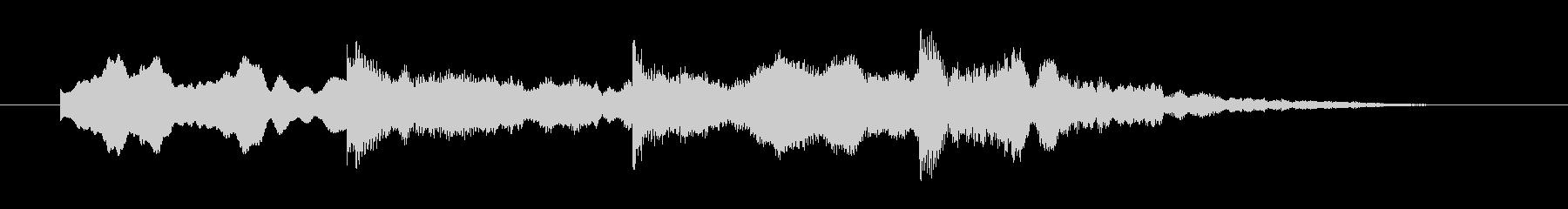 ホラー効果音 違和感 怪しい音 ピンポンの未再生の波形