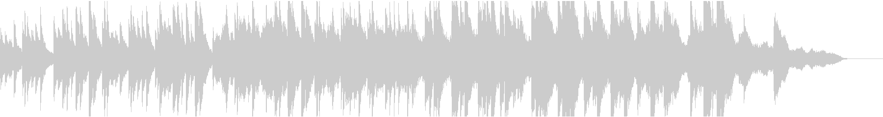 ドラマ8 16bit48kHzVerの未再生の波形