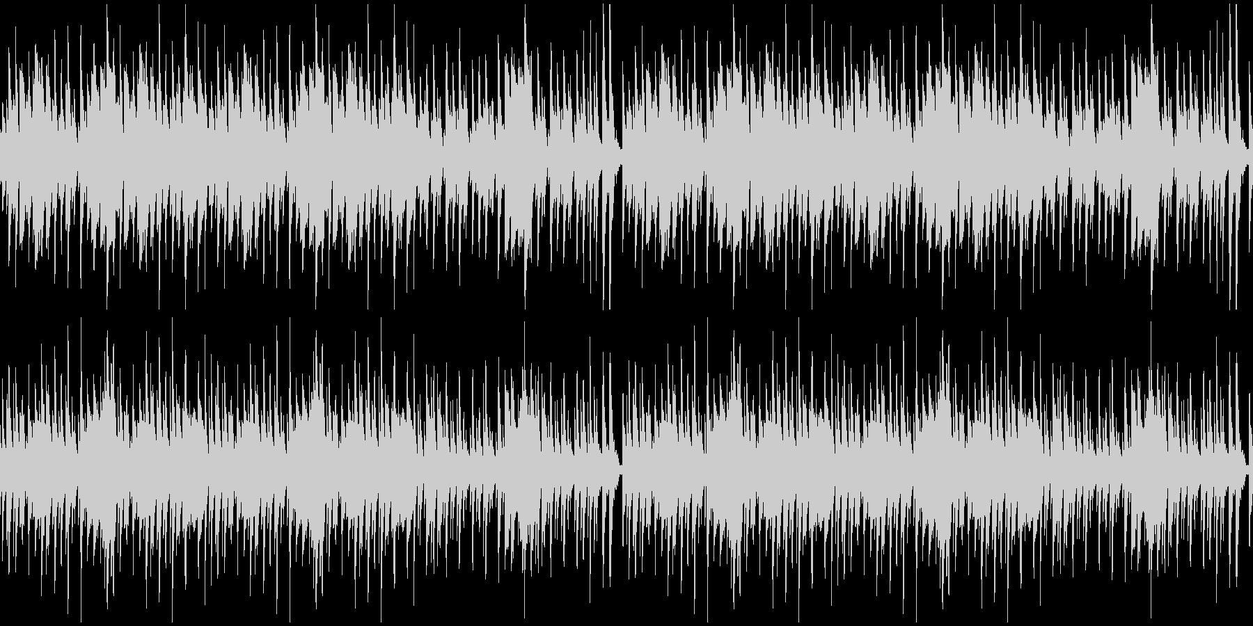【YouTube】料理クッキングなピアノの未再生の波形
