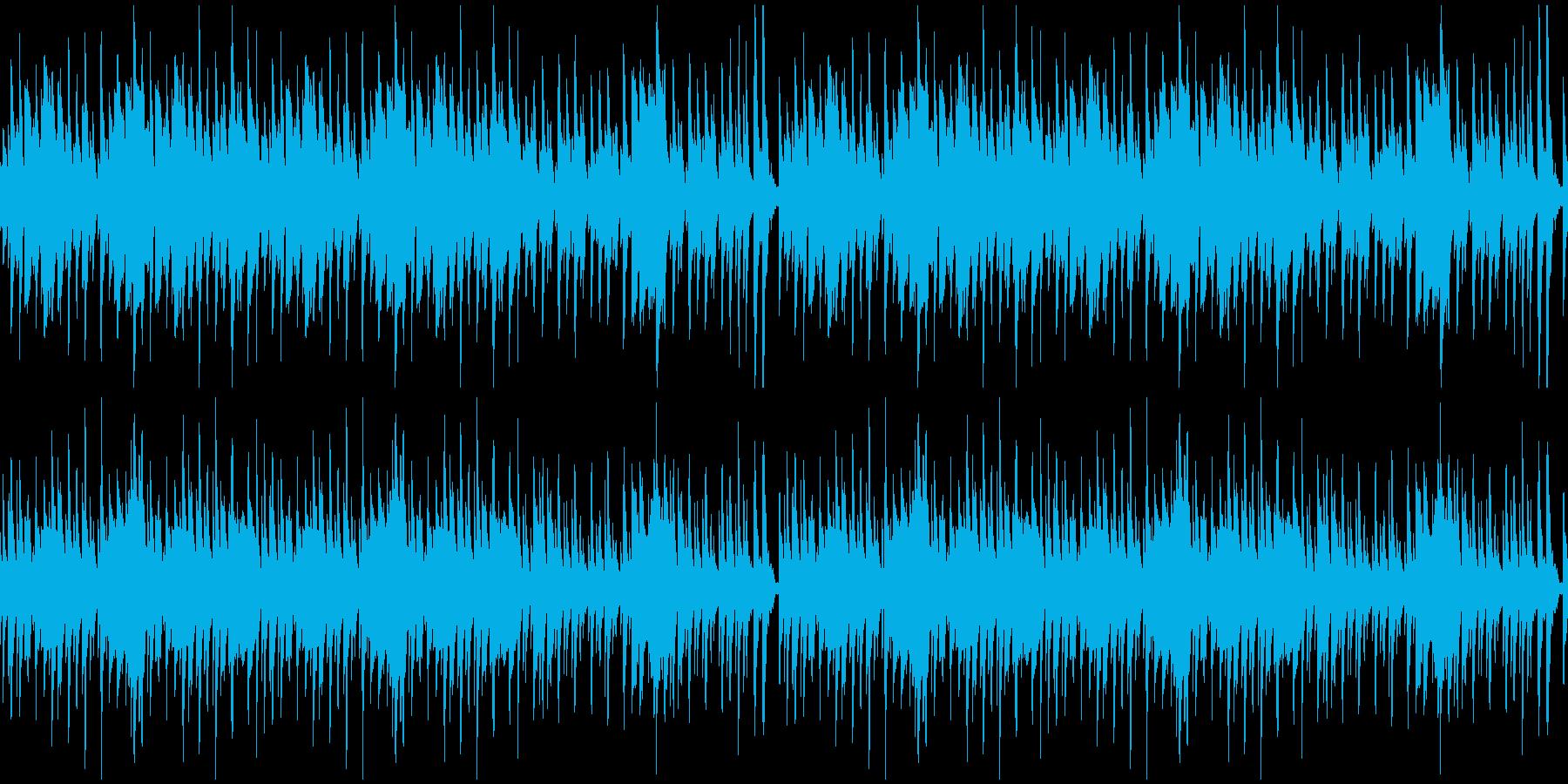 【YouTube】料理クッキングなピアノの再生済みの波形