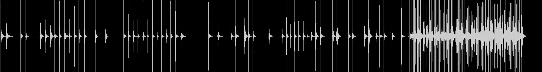 三味線69勧進帳22二段目の延年の舞合方の未再生の波形