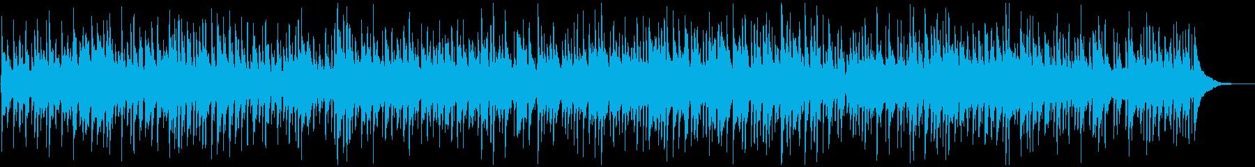 陽気でのどかなケルティック音楽の再生済みの波形