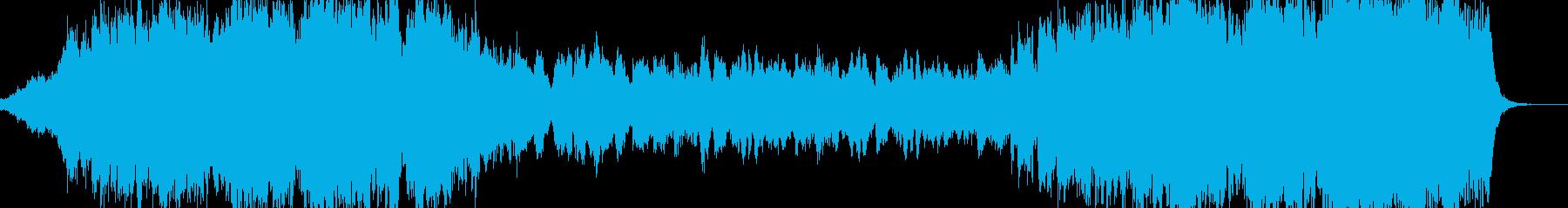 ファンタジー世界での最終決戦前の再生済みの波形