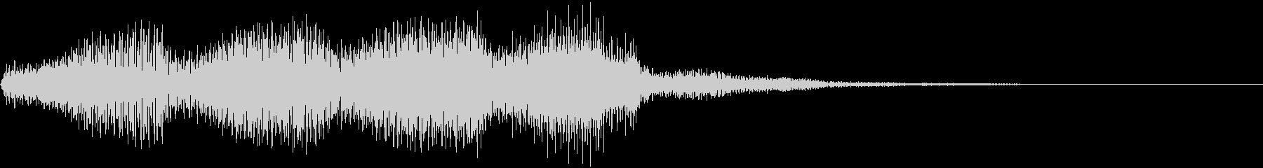 シンセパッド音 01の未再生の波形
