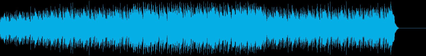 CM・夏のビーチ・レゲエの再生済みの波形