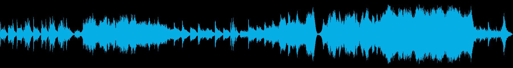 ループ_回想、悲しみ系の劇伴バラードの再生済みの波形