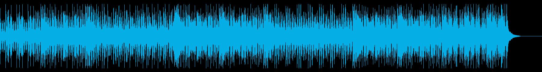少し陰のあるスタイリッシュなワルツ風の再生済みの波形