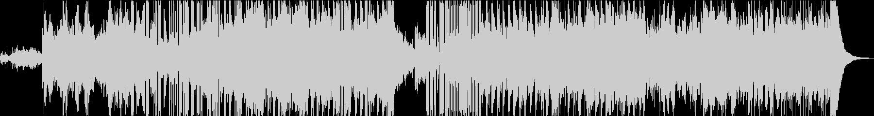 重低音響くかっこいいDubstepの未再生の波形
