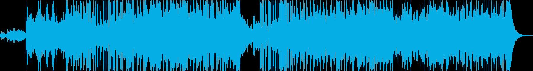 重低音響くかっこいいDubstepの再生済みの波形