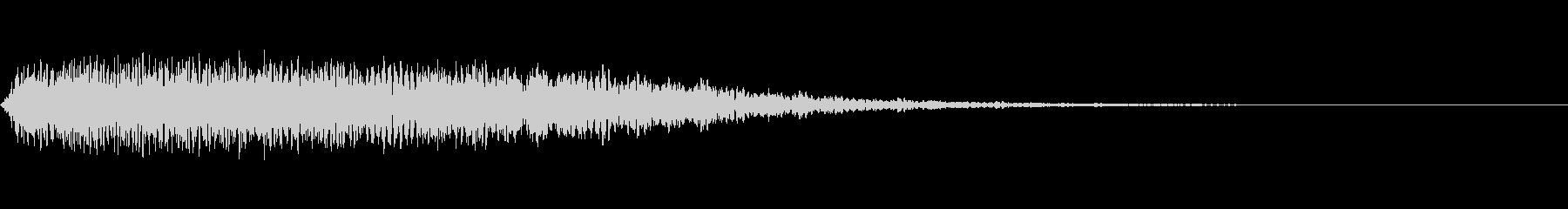 「ポイント」NHKプロフェッショナル風の未再生の波形